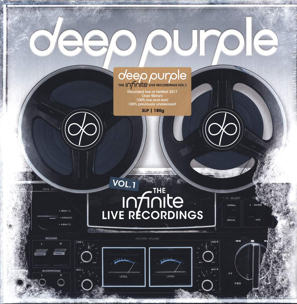 Deep Purple: The Infinite Live Recordings Vol.1, LP (Vinyl)