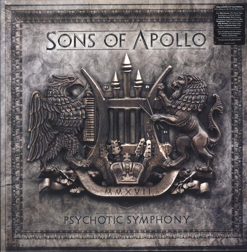 Sons Of Apollo: Psychotic Symphony, LP (Vinyl)