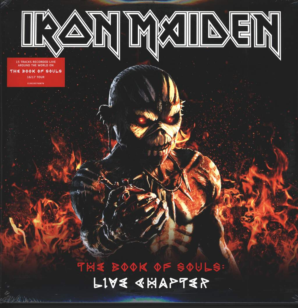 Iron Maiden: The Book Of Souls: Live Chapter, 3×LP (Vinyl)