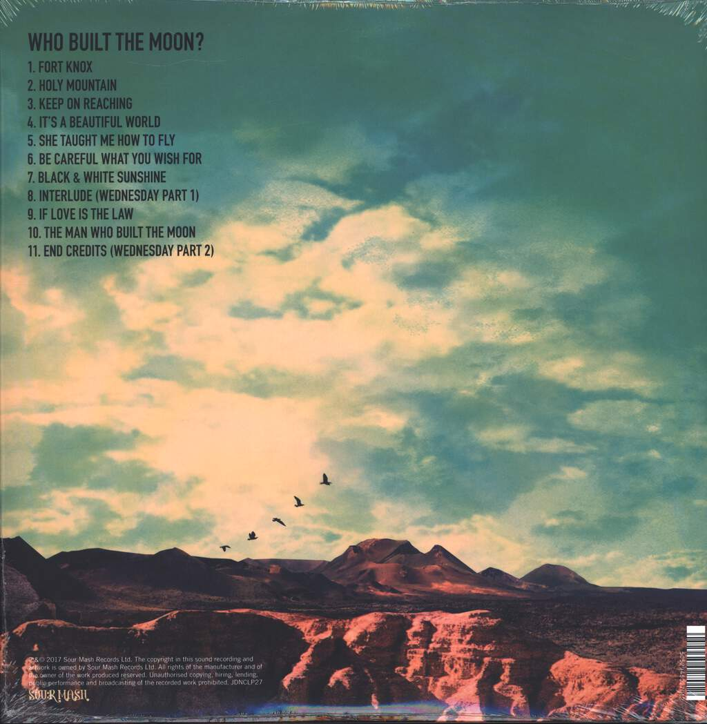 Noel Gallagher's High Flying Birds: Who Built The Moon?, LP (Vinyl)