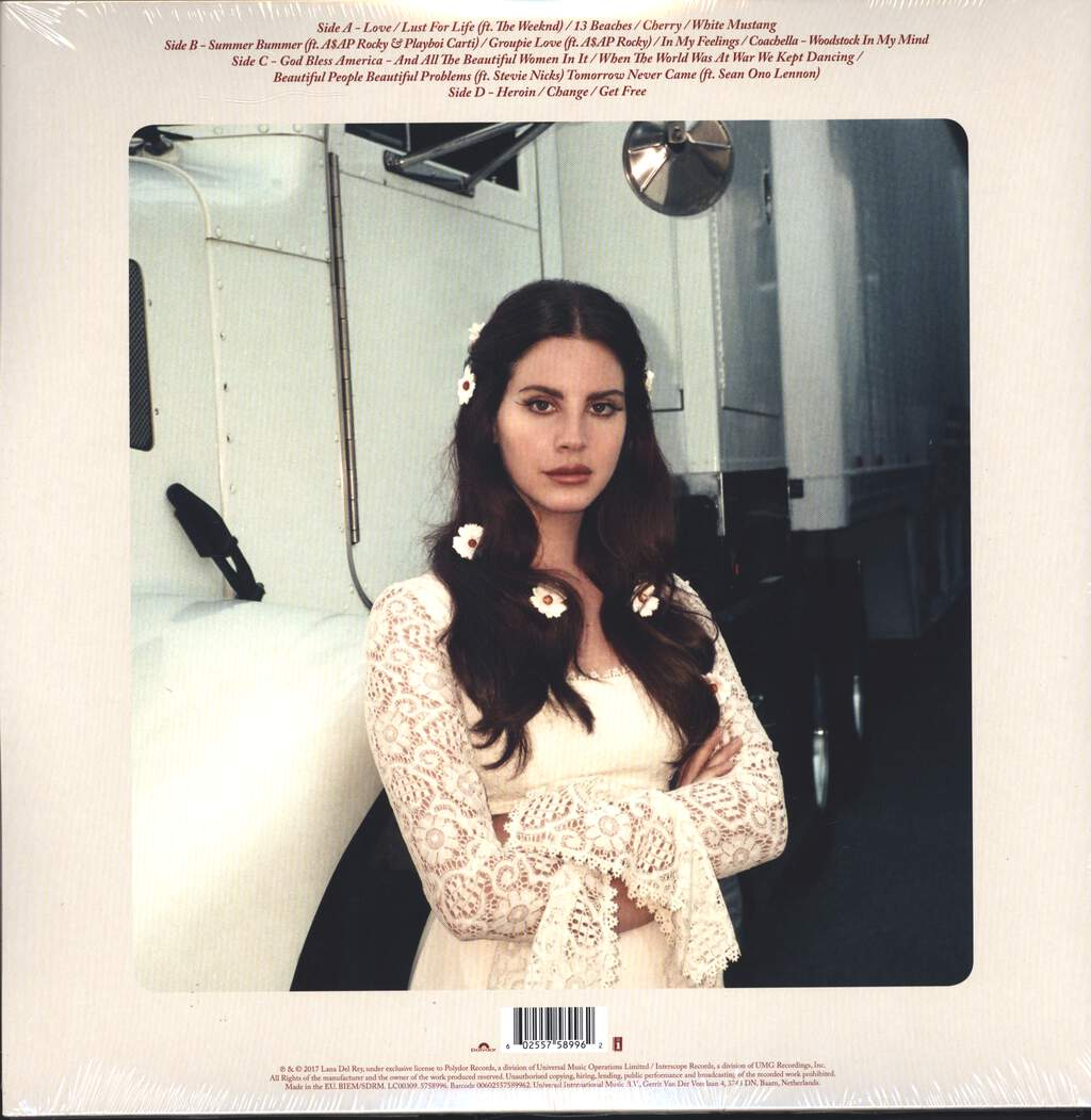 Lana Del Rey: Lust For Life, 2×LP (Vinyl)