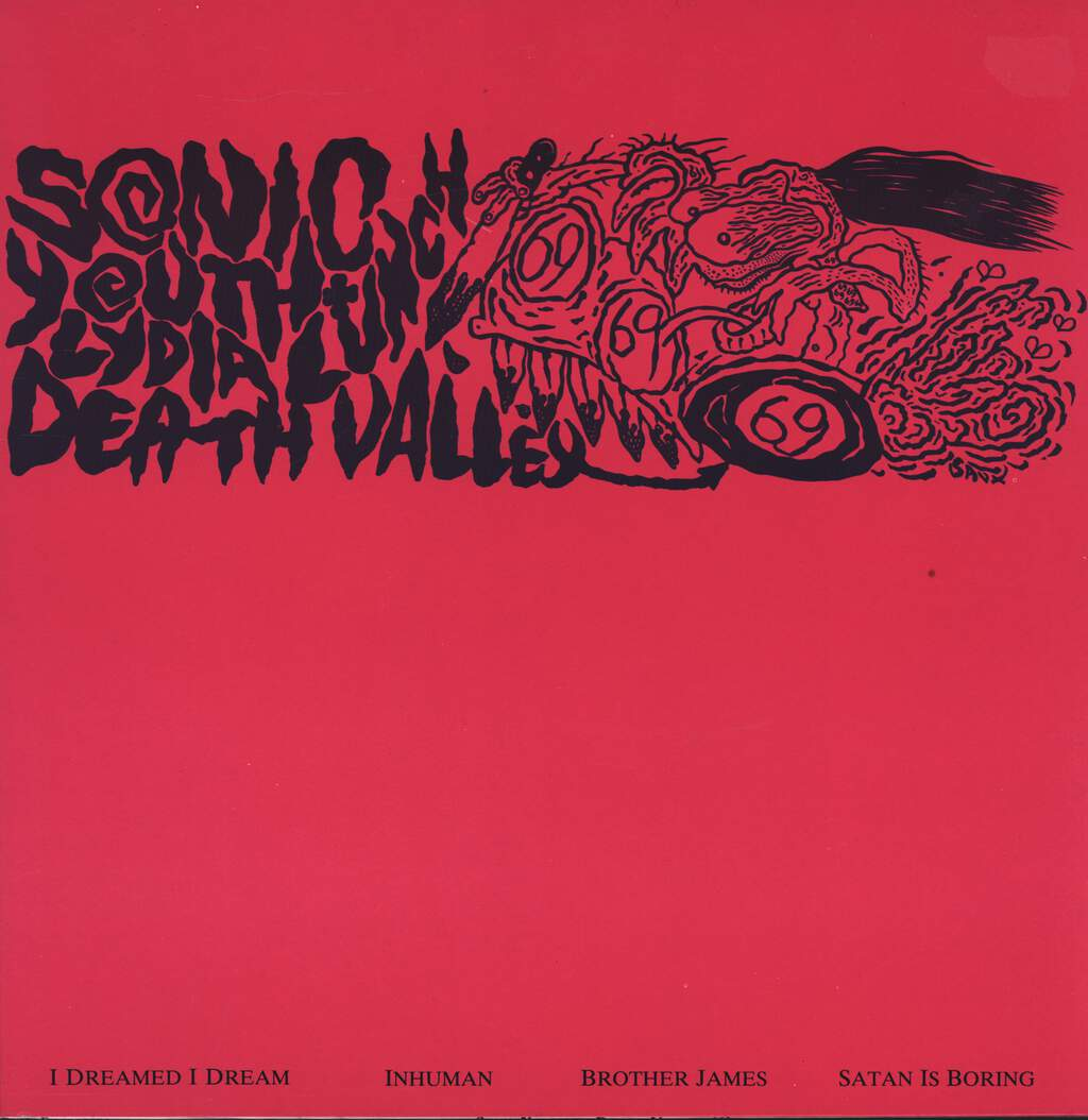 "Sonic Youth: Death Valley '69, 12"" Maxi Single (Vinyl)"
