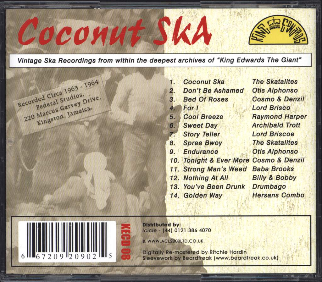 Various: Coconut Ska, CD