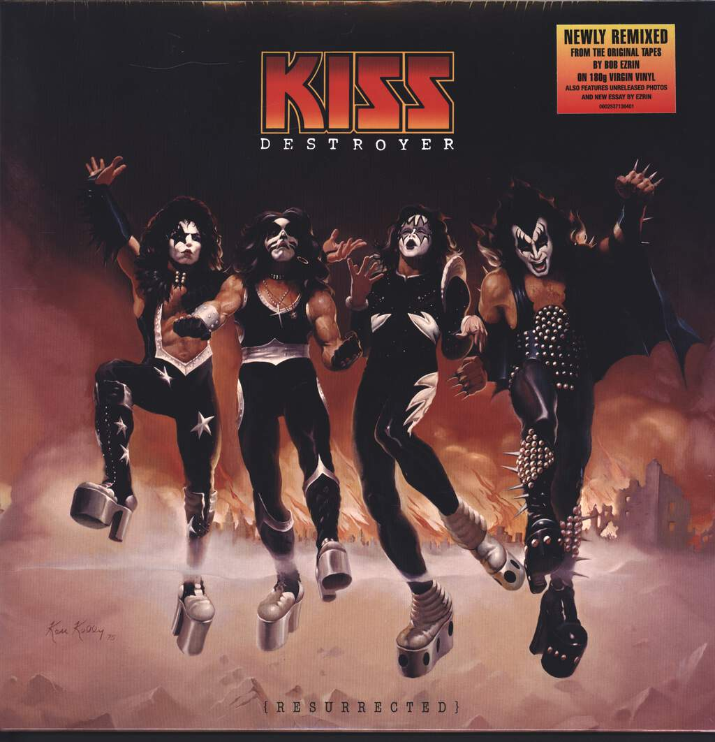 Kiss: Destroyer (Resurrected), LP (Vinyl)