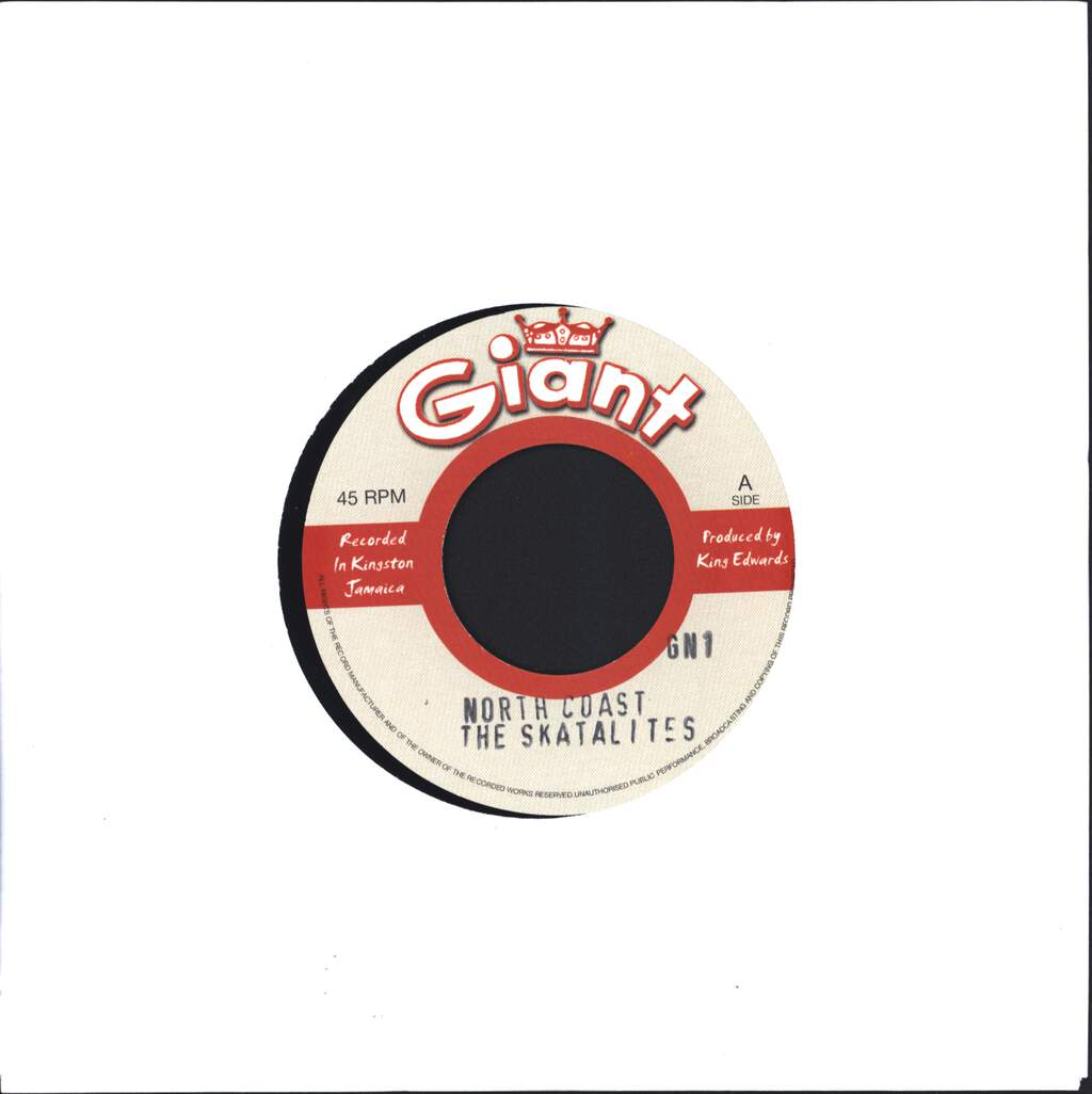 "The Skatalites: North Coast / Kingston 11, 7"" Single (Vinyl)"
