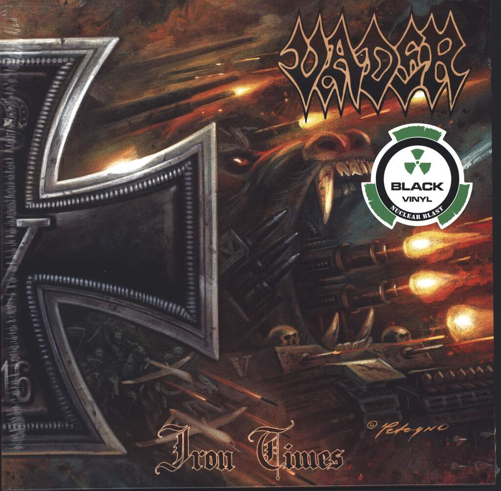 "Vader: Iron Times, 10"" Vinyl EP"