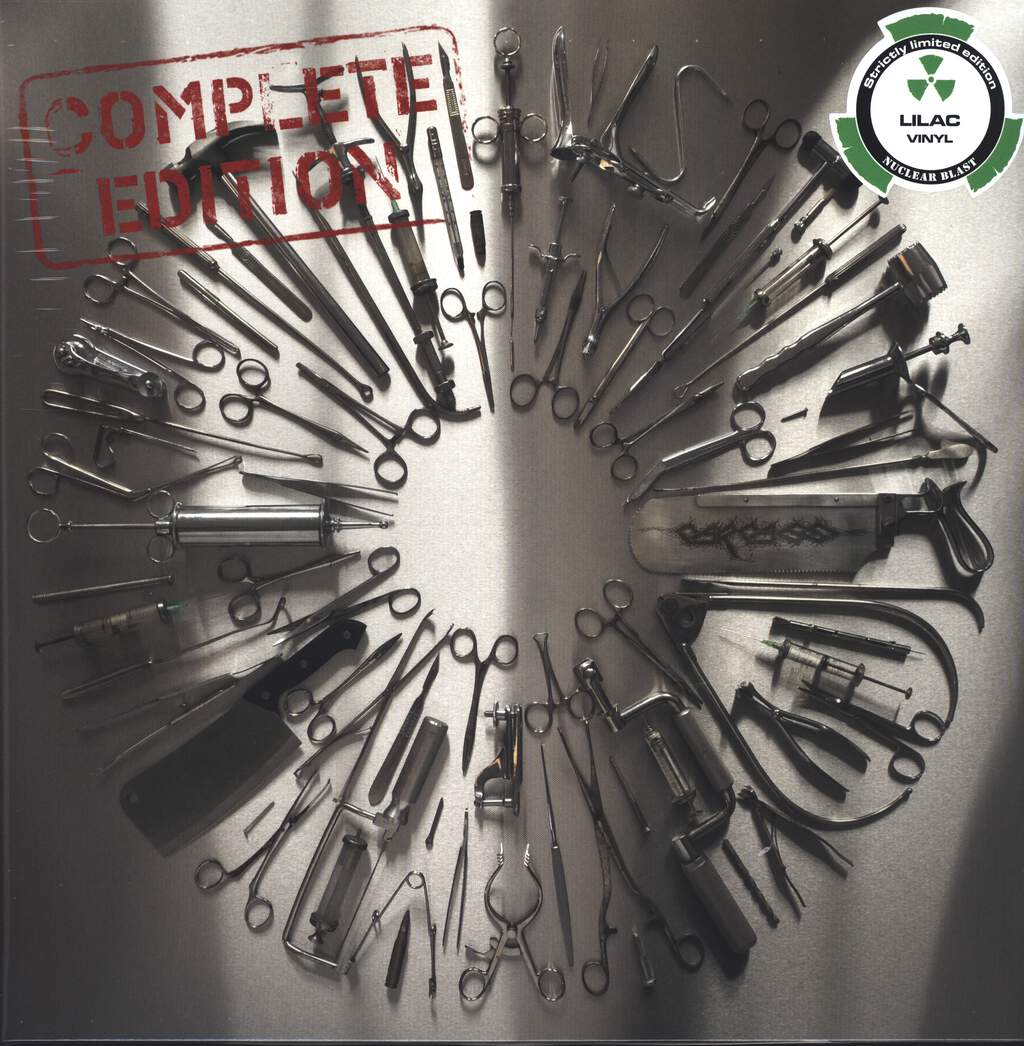Carcass: Surgical Steel (Complete Edition), LP (Vinyl)