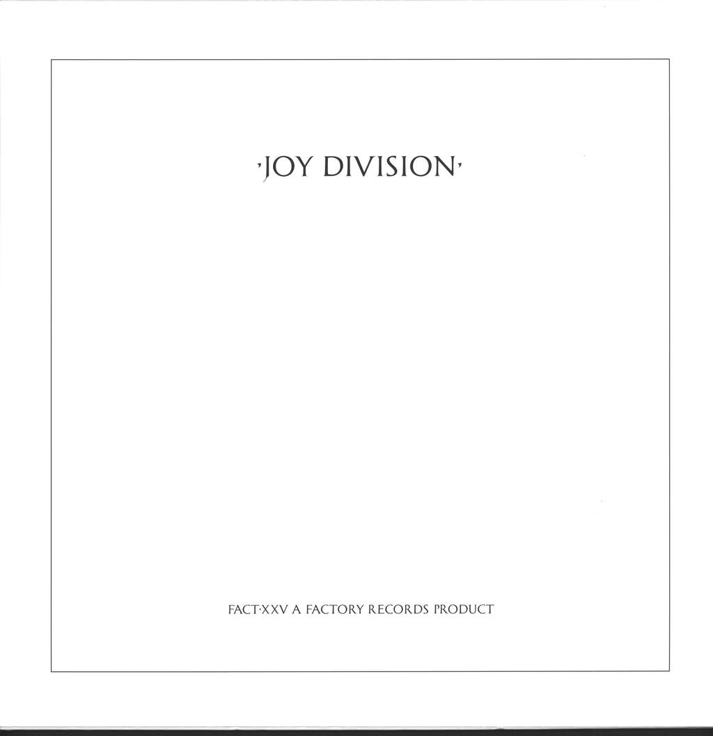 Joy Division: Closer, LP (Vinyl)