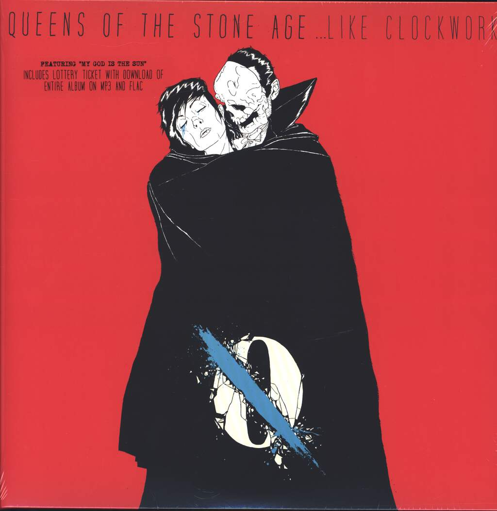 "Queens Of the Stone Age: ...Like Clockwork, 2×12"" Maxi Single (Vinyl)"