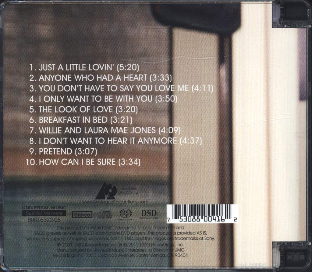 Shelby Lynne: Just A Little Lovin', CD