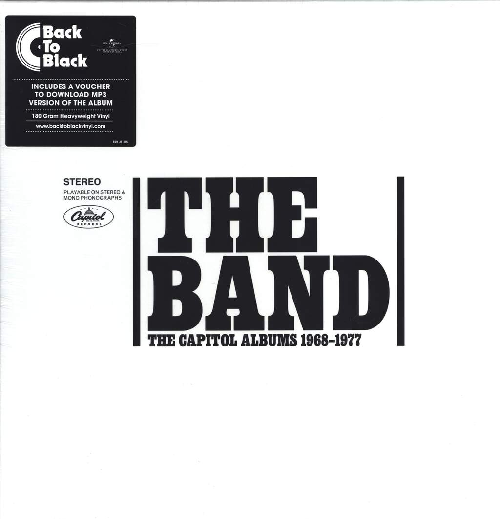 The Band: The Capitol Albums 1968-1977, LP (Vinyl)