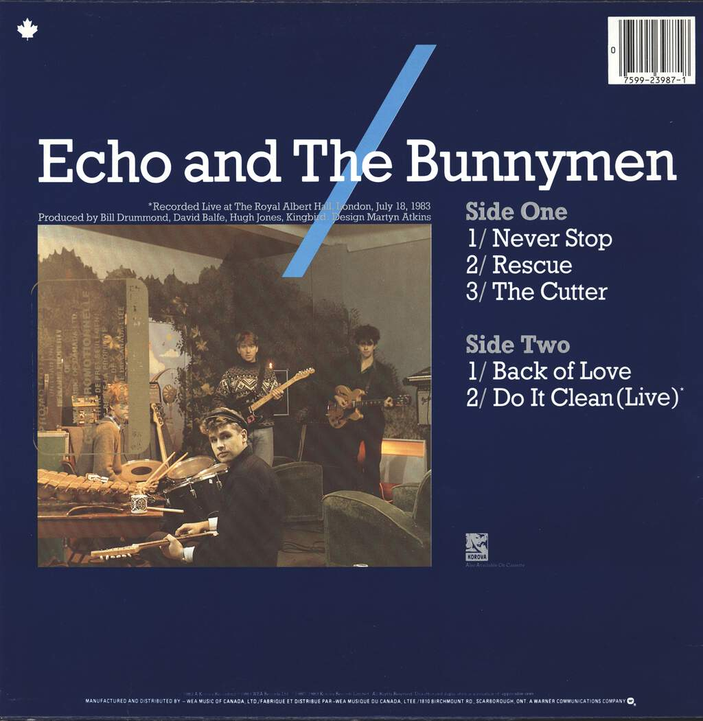 Echo & the Bunnymen: Echo And The Bunnymen, Mini LP (Vinyl)
