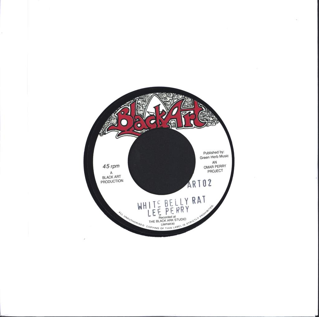"Lee Perry: White Belly Rat, 7"" Single (Vinyl)"