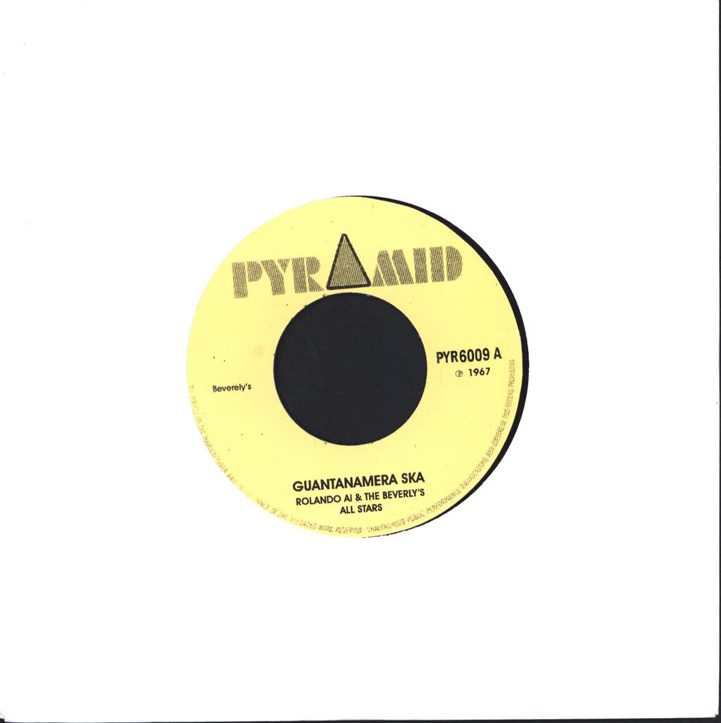 "Roland Alphonso: Guantanamera Ska / Suffer Me Not, 7"" Single (Vinyl)"