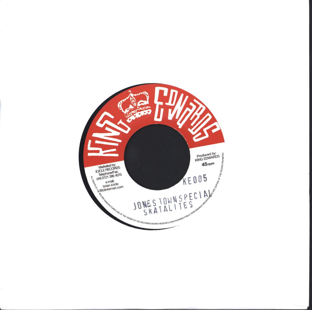 "The Skatalites: Jones Town Special / Ungodly People, 7"" Single (Vinyl)"
