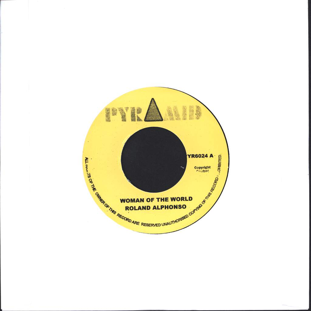 "Roland Alphonso: Woman Of The World, 7"" Single (Vinyl)"