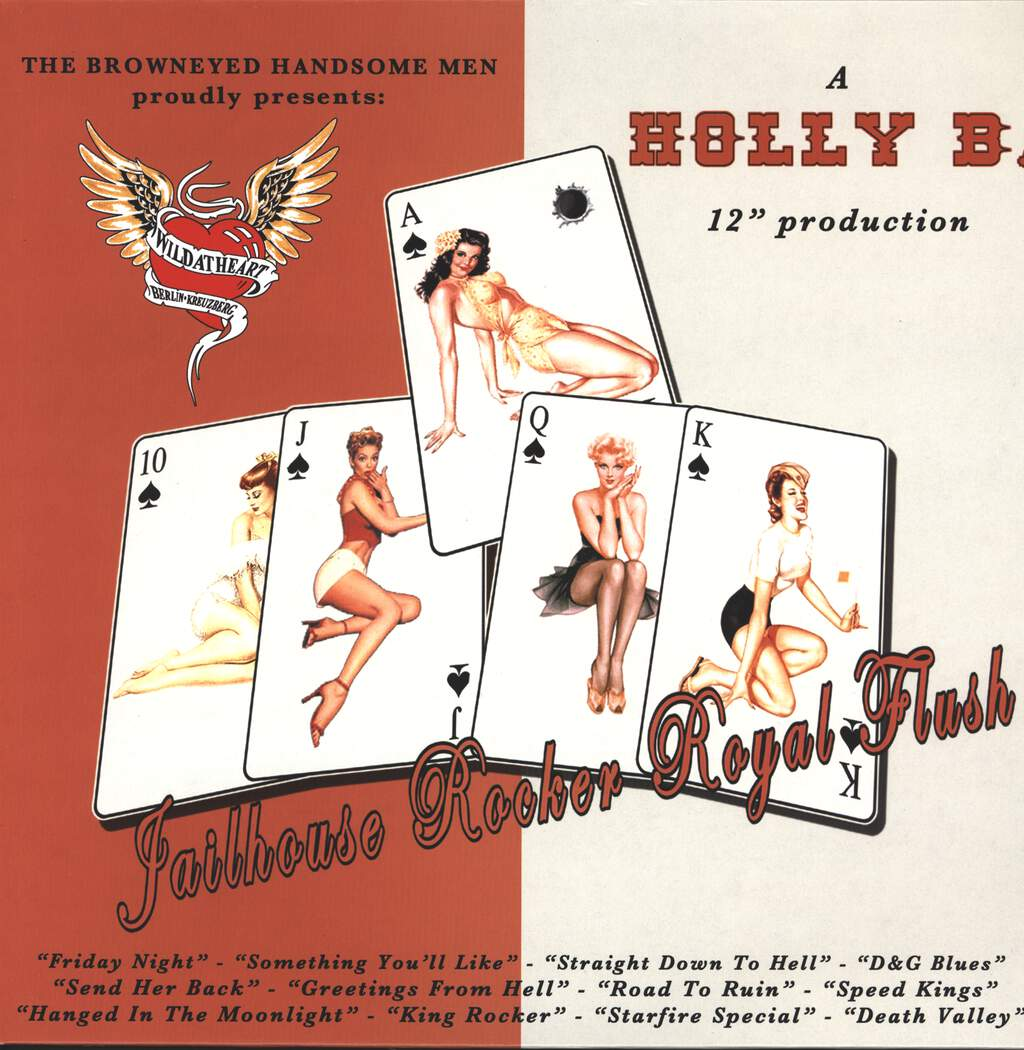 Holly B.: Jailhouse Rocker Royal Flush, LP (Vinyl)