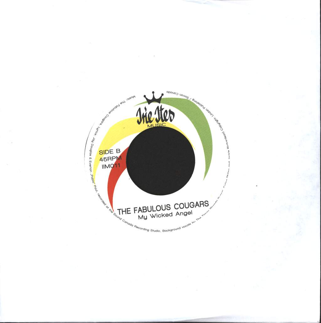 """The Fabulous Cougars: Sooner Or Later / My Wicked Angel, 7"""" Single (Vinyl)"""