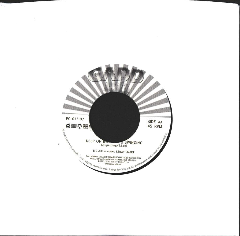 "Prince Ras Murray: African Descendant / Keep On Rocking & Swinging, 7"" Single (Vinyl)"