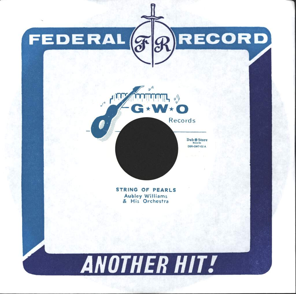 "Audley Williams & His Orchestra: String Of Pearls / Third Man Theme, 7"" Single (Vinyl)"
