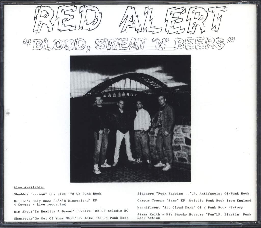 Red Alert: Blood, Sweat 'N' Beers, CD