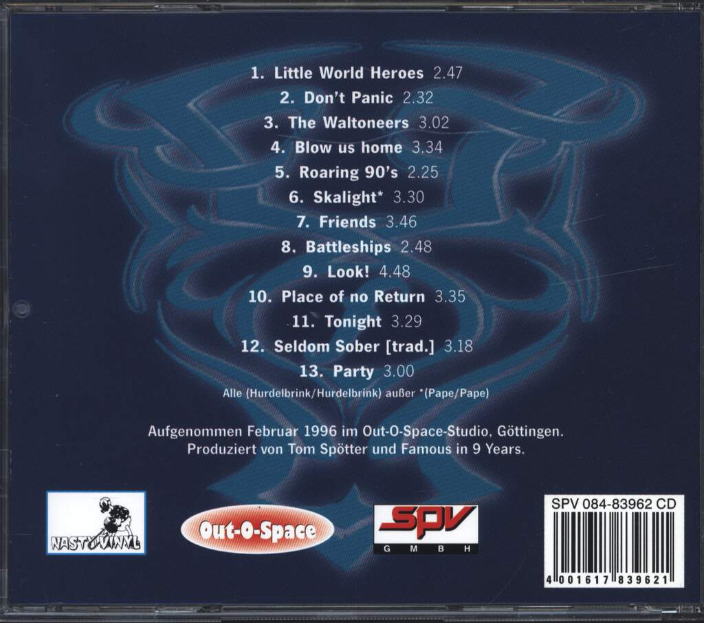 Famous in 9 Years: Look!, CD