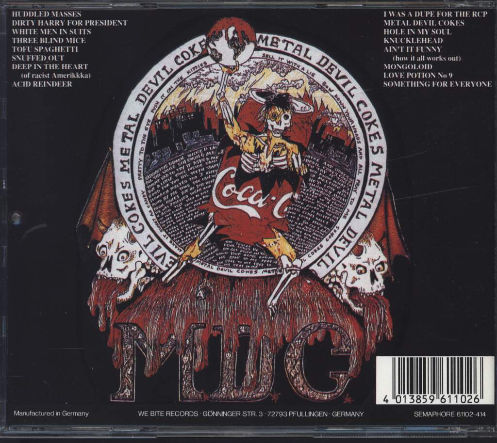 MDC: Metal Devil Cokes, CD