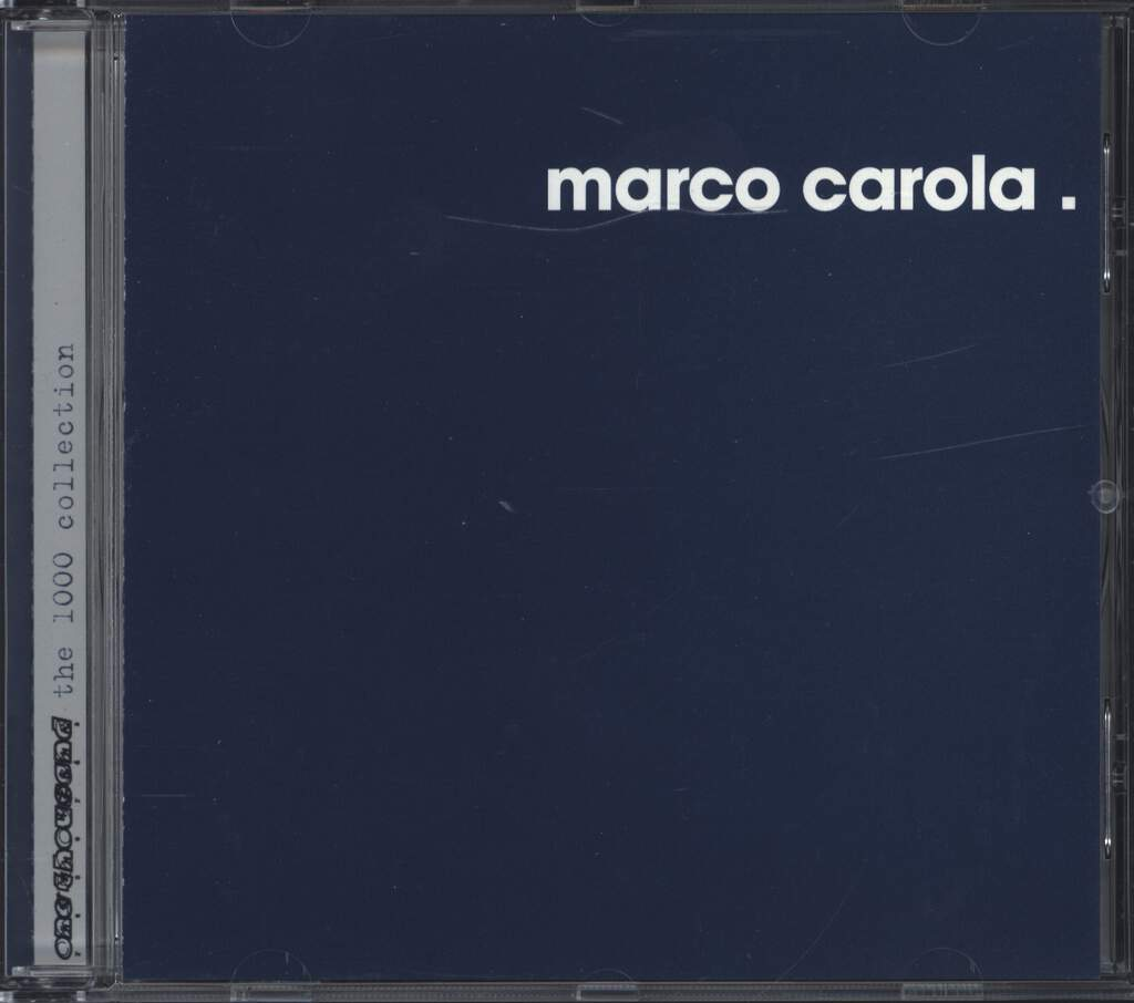 Marco Carola: The 1000 Collection, CD