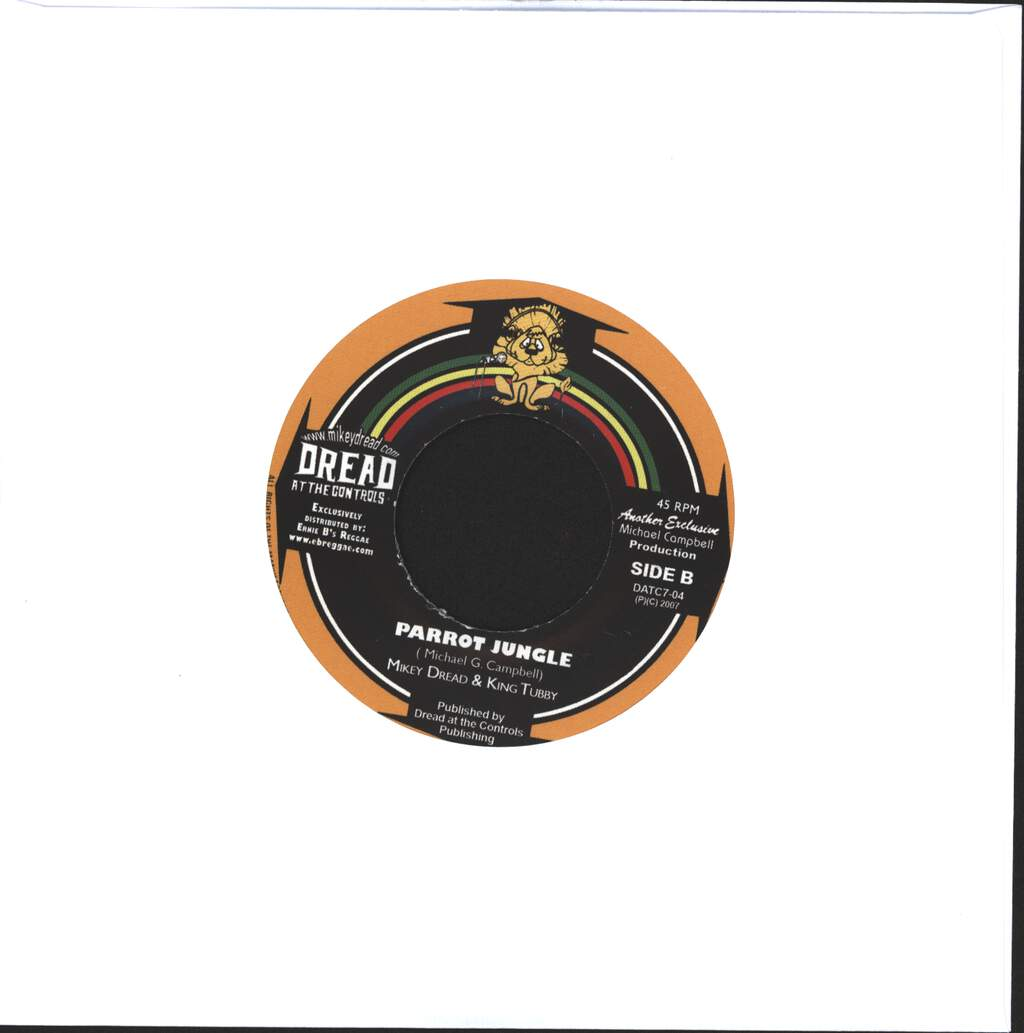 "Rod Taylor: Behold Him  / Parrot Jungle, 7"" Single (Vinyl)"