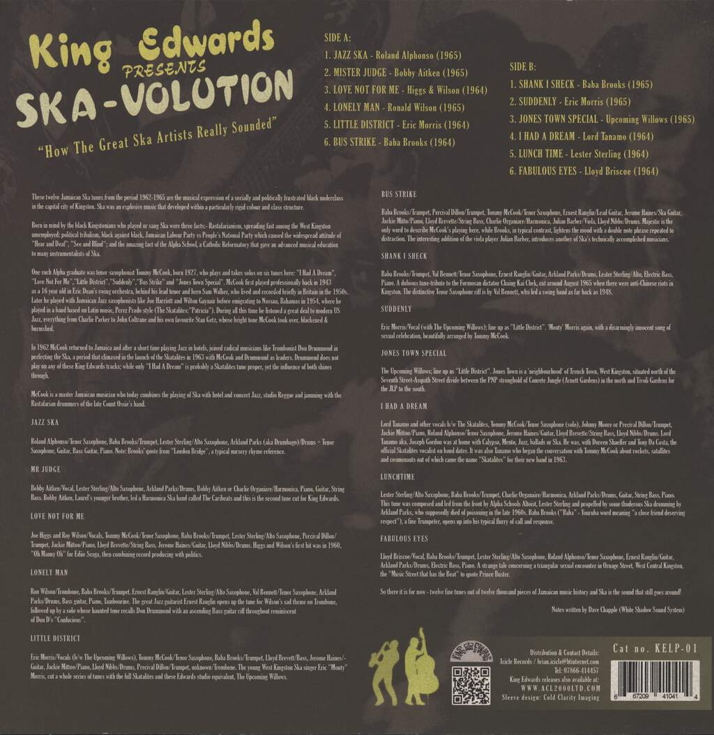 Various: King Edwards Presents Ska-Volution, LP (Vinyl)