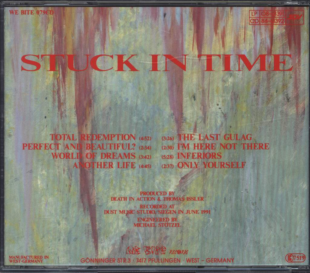 Death in Action: Stuck In Time, CD