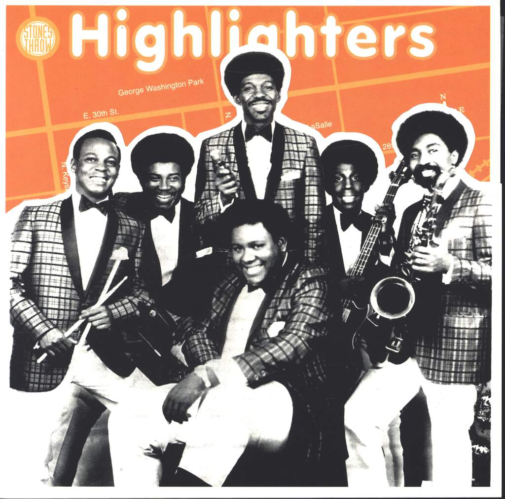 "The Highlighters Band: Poppin' Pop Corn / The Funky Sixteen Corners, 7"" Single (Vinyl)"