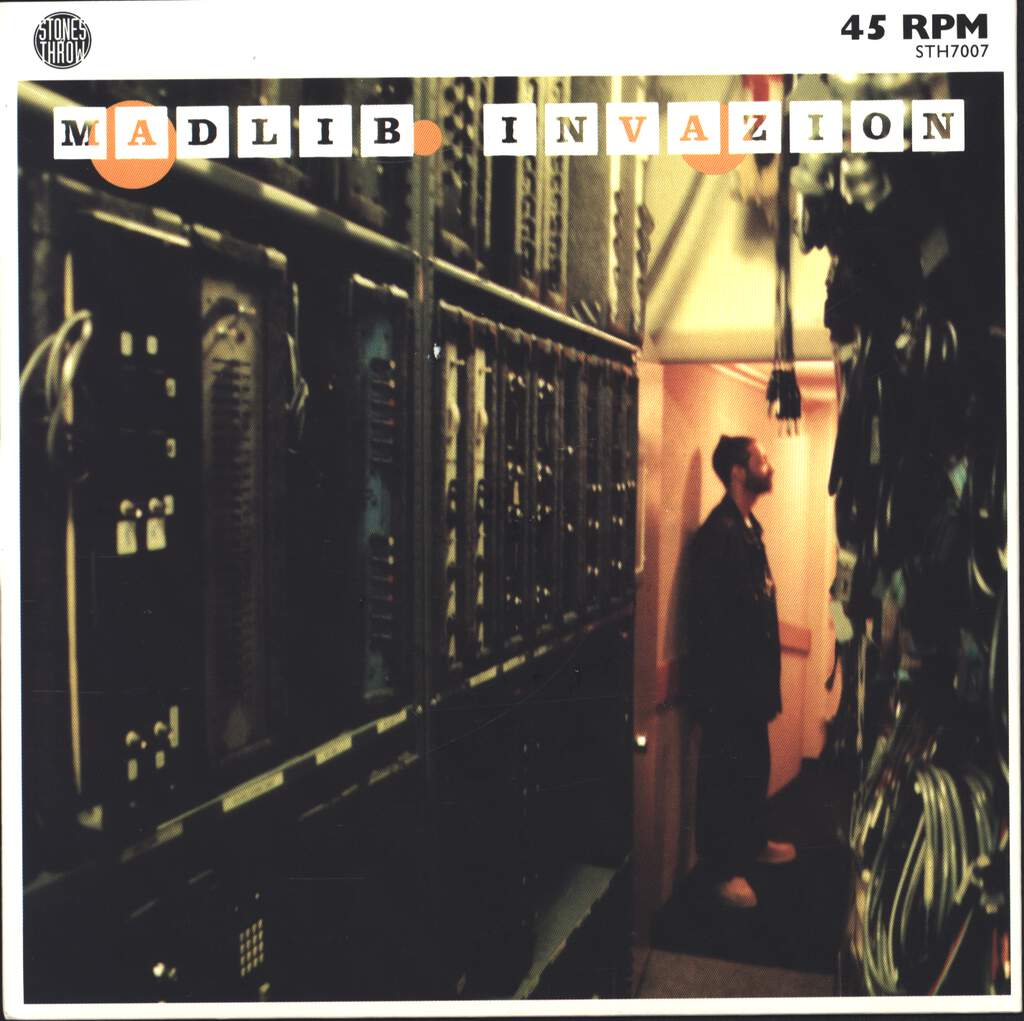 "Madlib: Madlib Invazion, 7"" Single (Vinyl)"