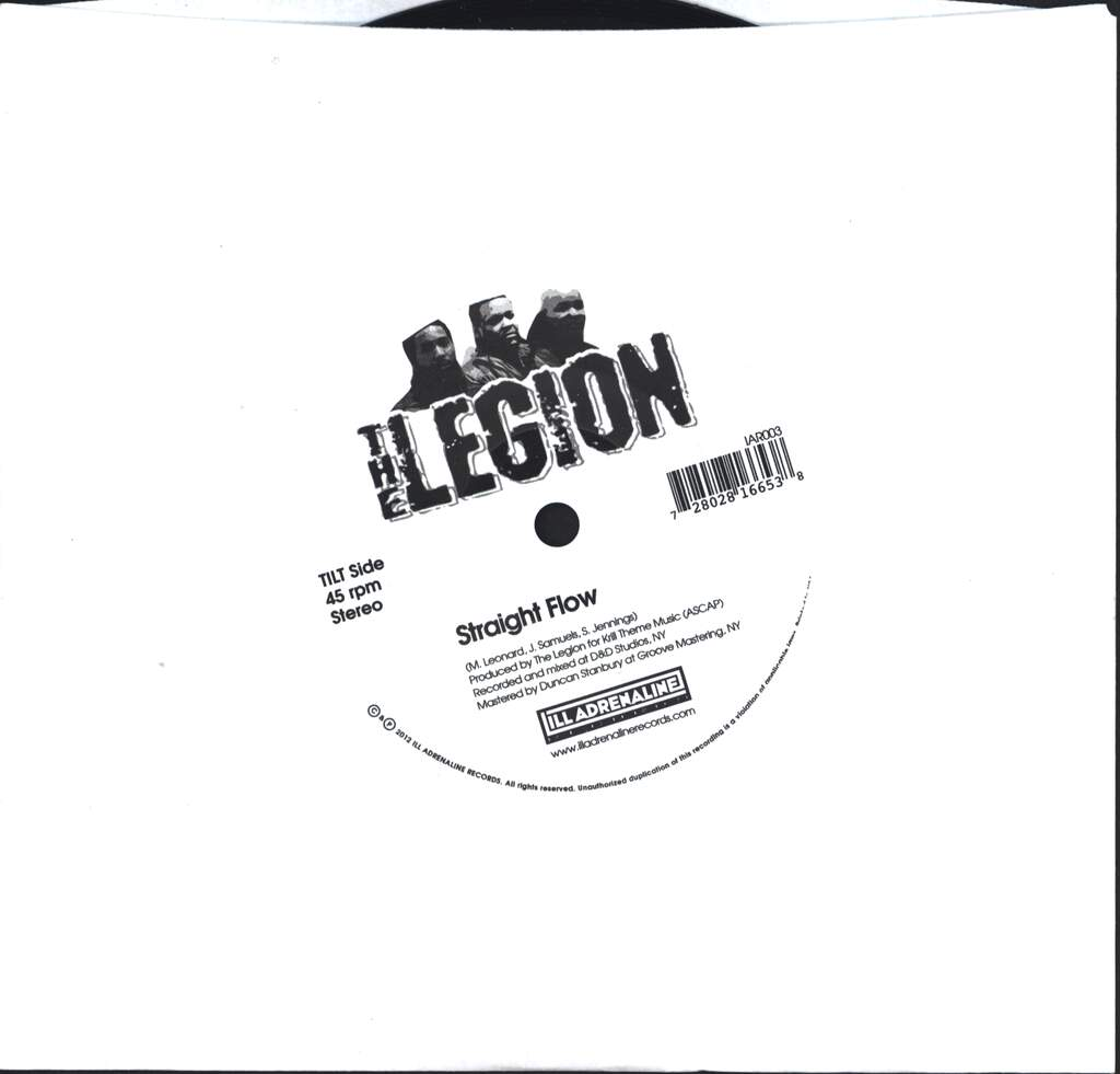 "The Legion: Automatic Systematic / Straight Flow, 7"" Single (Vinyl)"