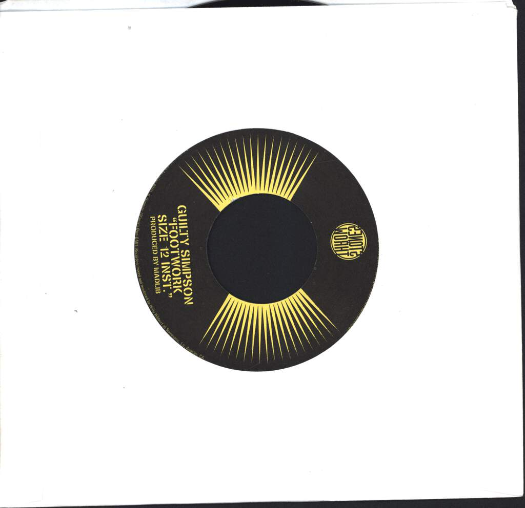 "Guilty Simpson: Footwork, 7"" Single (Vinyl)"