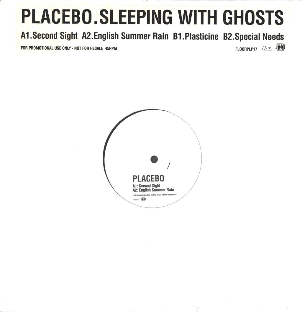 "Placebo: Sleeping With Ghosts, 12"" Maxi Single (Vinyl)"