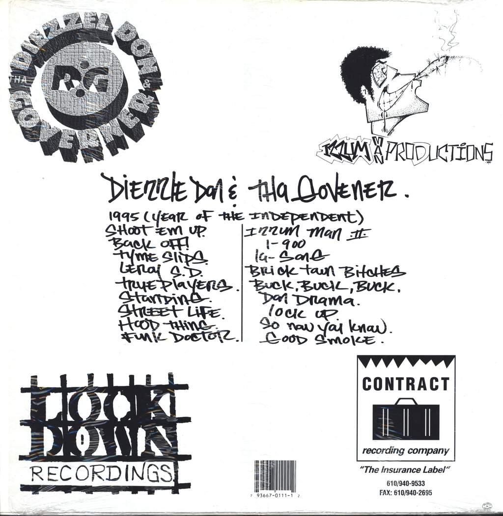 Diezzle Don & Tha Govener: 1995 (Year Of The Independent), LP (Vinyl)
