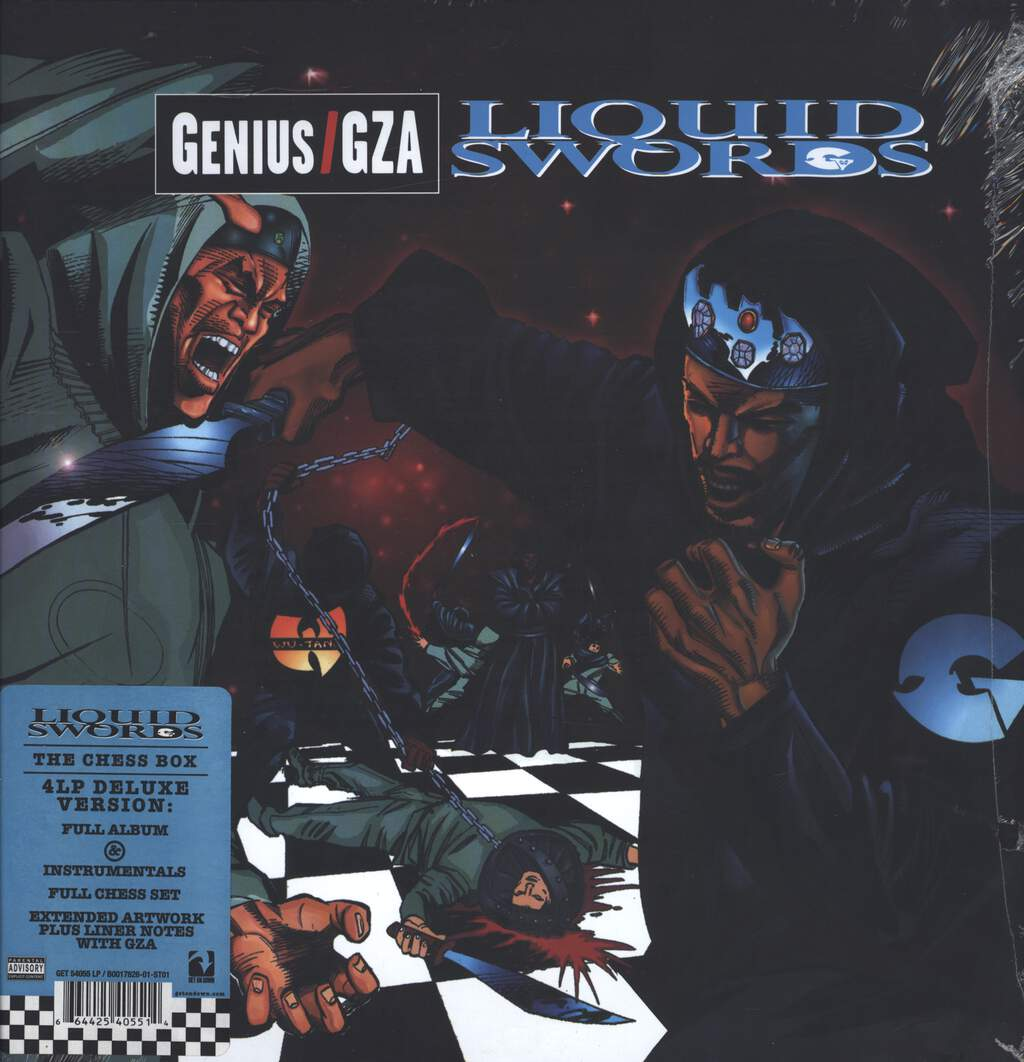 The Genius: Liquid Swords, LP (Vinyl)