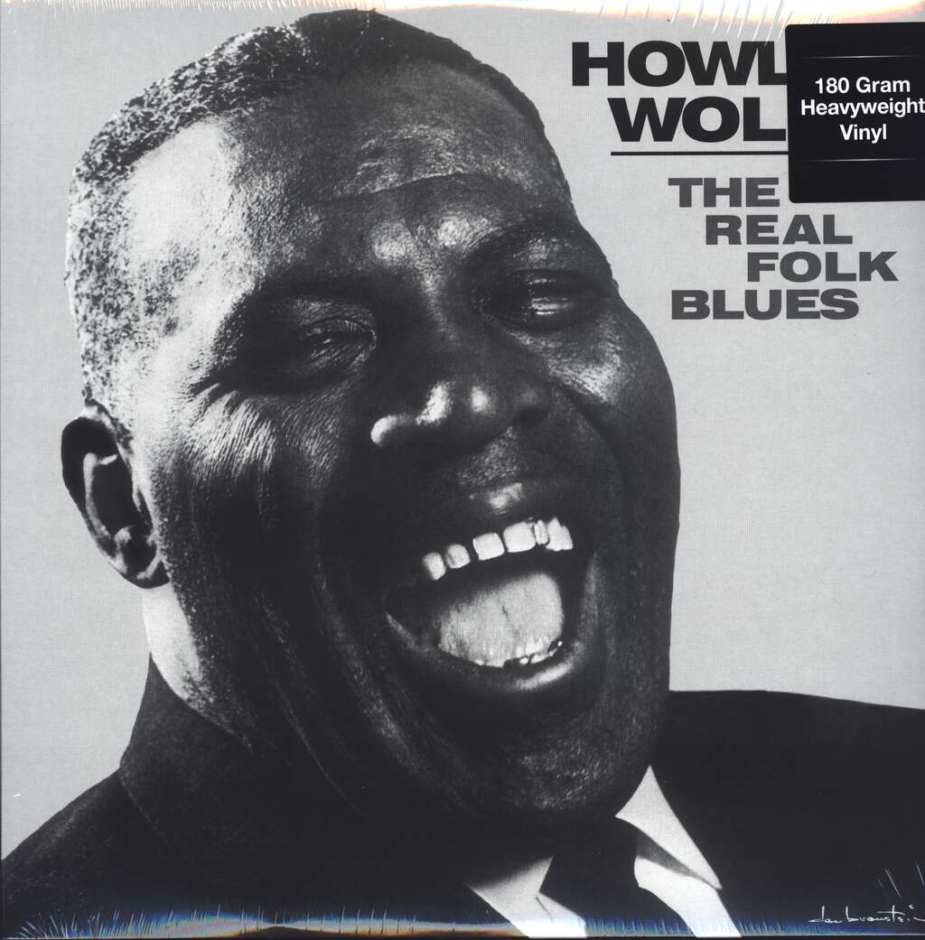 Howlin Wolf: The Real Folk Blues, LP (Vinyl)