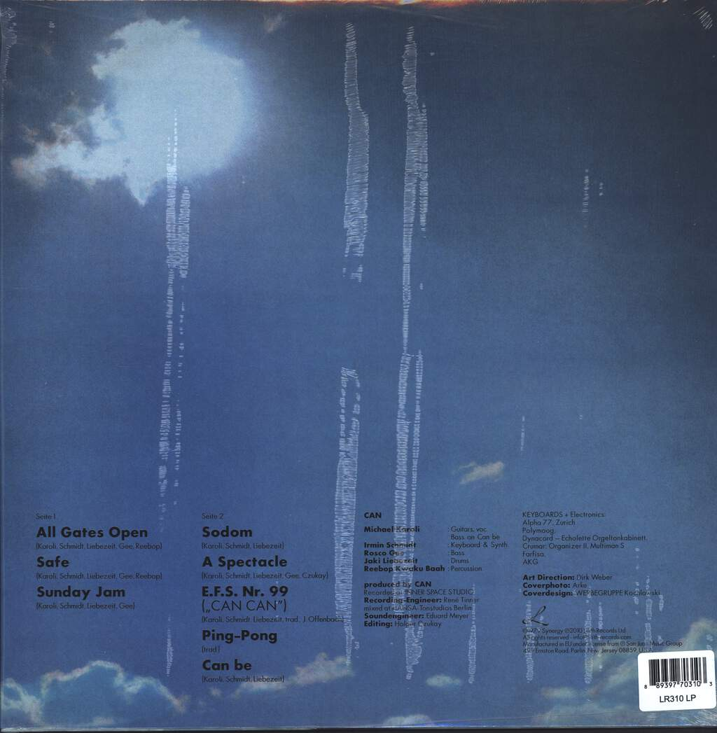 Can: Can (Inner Space), LP (Vinyl)
