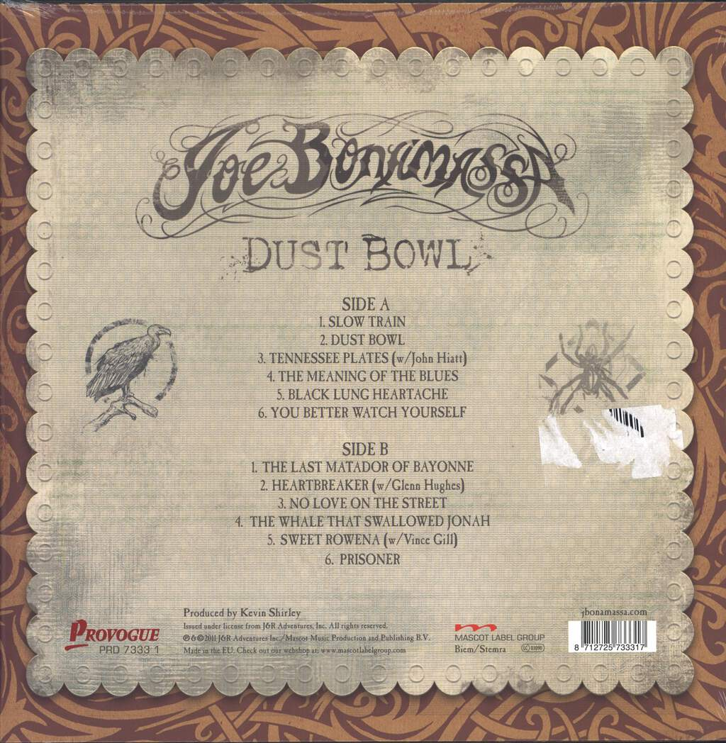 Joe Bonamassa: Dust Bowl, LP (Vinyl)