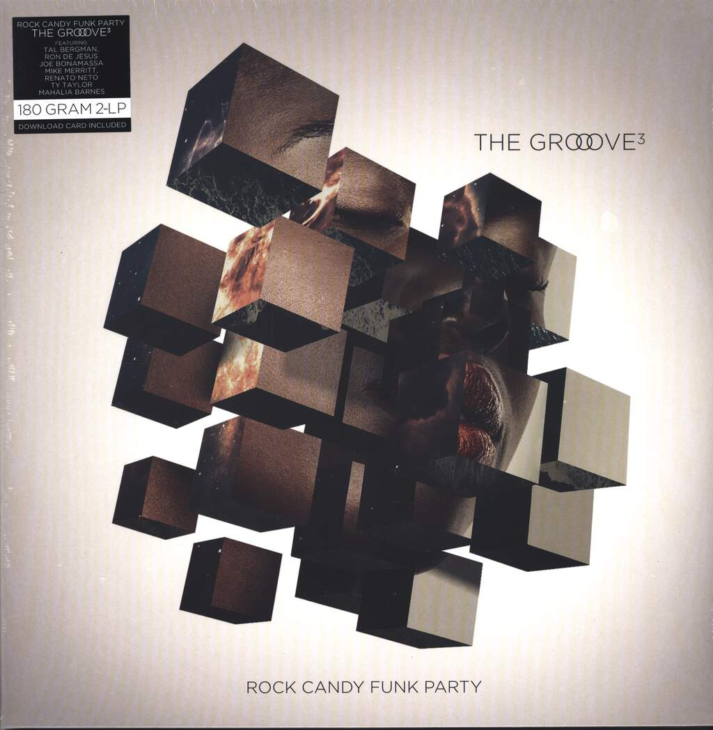 Rock Candy Funk Party: The Groove Cubed, LP (Vinyl)
