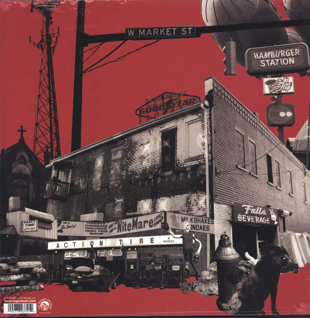 The Black Keys: Rubber Factory, LP (Vinyl)