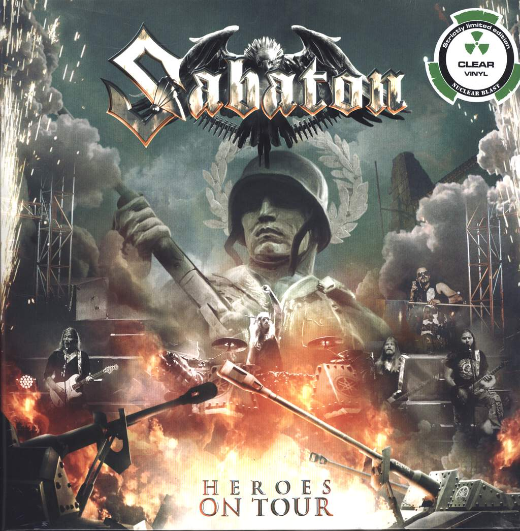 Sabaton: Heroes On Tour, LP (Vinyl)