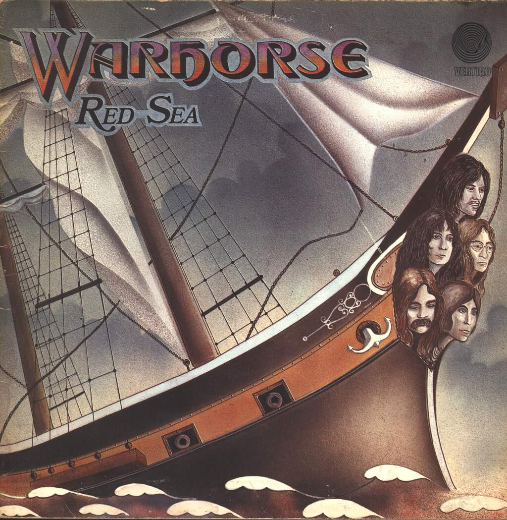Warhorse: Red Sea, LP (Vinyl)