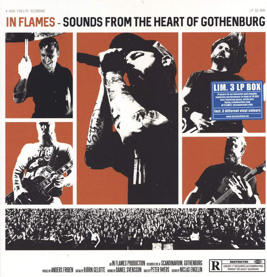 In Flames: Sounds From The Heart Of Gothenburg, LP (Vinyl)