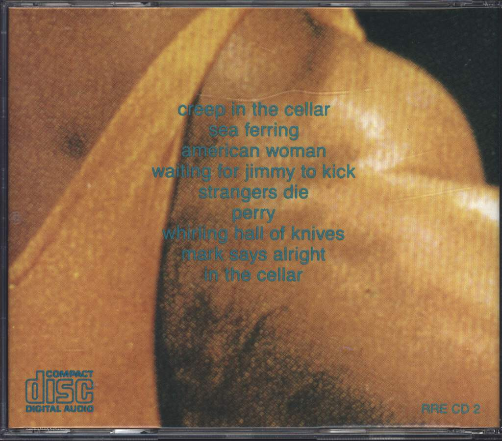 Butthole Surfers: Rembrandt Pussyhorse, CD