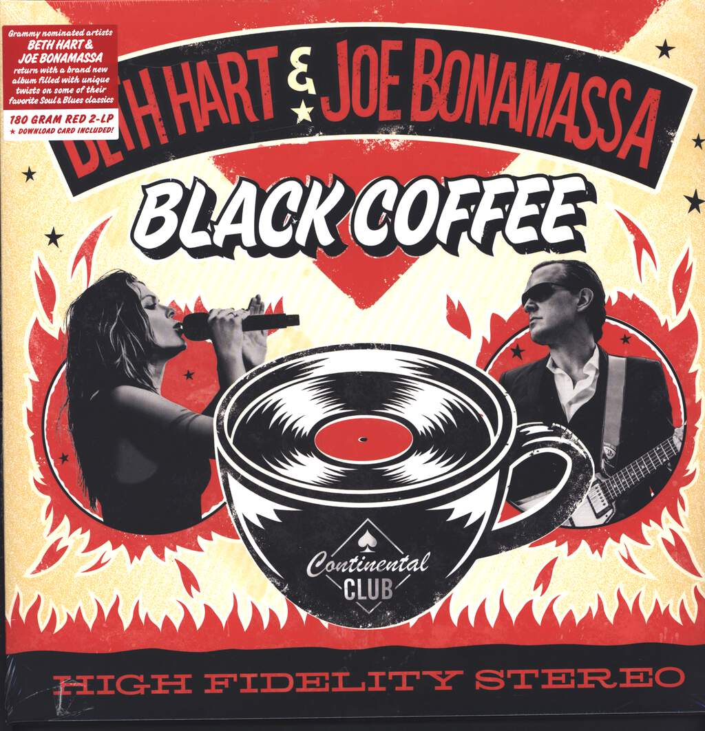Beth Hart: Black Coffee, LP (Vinyl)