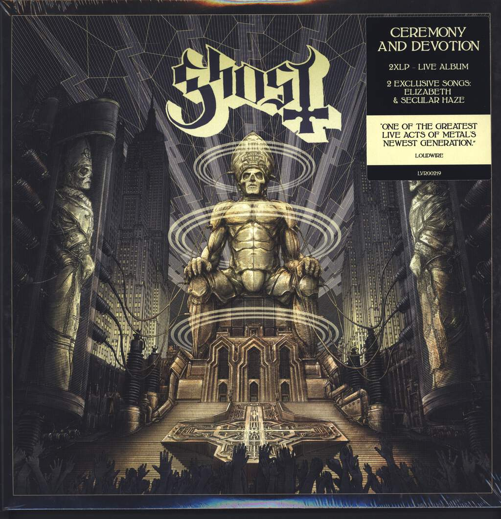 Ghost: Ceremony And Devotion, LP (Vinyl)