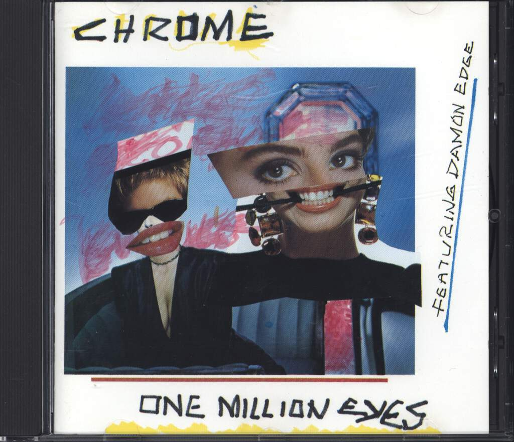 Chrome: One Million Eyes & Live In Italy, CD